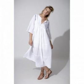 WHITE AMBU DRESS