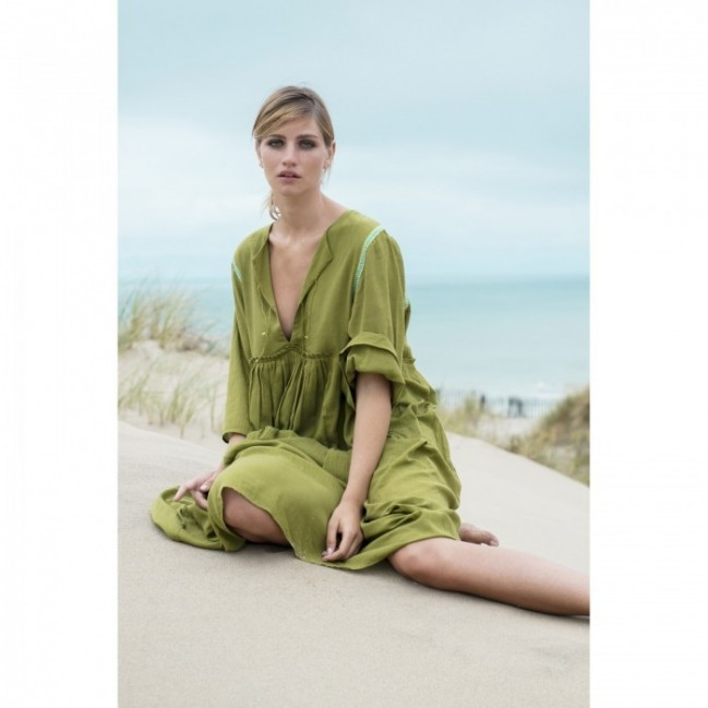 GREEN AMBU DRESS